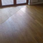 Ze względu na to że podłoga była dość równa, staraliśmy się szlifując usunąć jak najmniejszą jej ilość.
